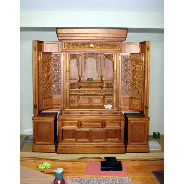 屋久杉製仏壇 木製家具