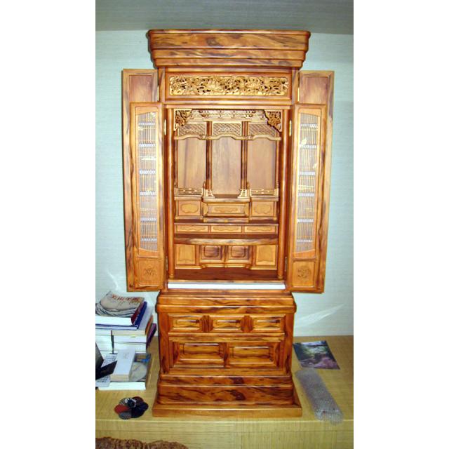 屋久杉製木製家具 仏壇その2