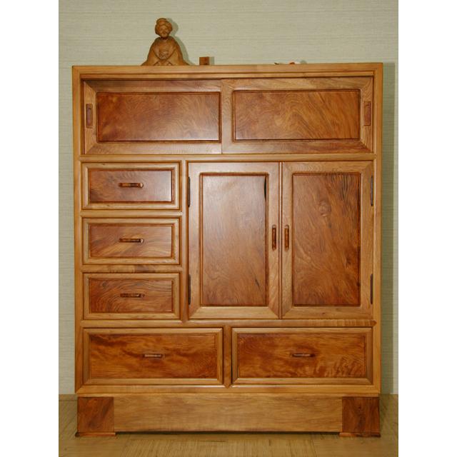 屋久杉製木製家具|たんす(箪笥)その3