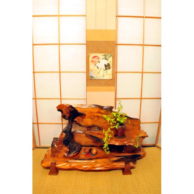 屋久杉製木製家具|置床(おきどこ)その3