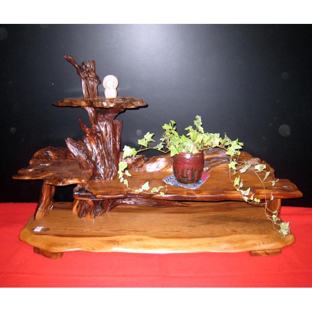 屋久杉製木製家具|置床(おきどこ)その5