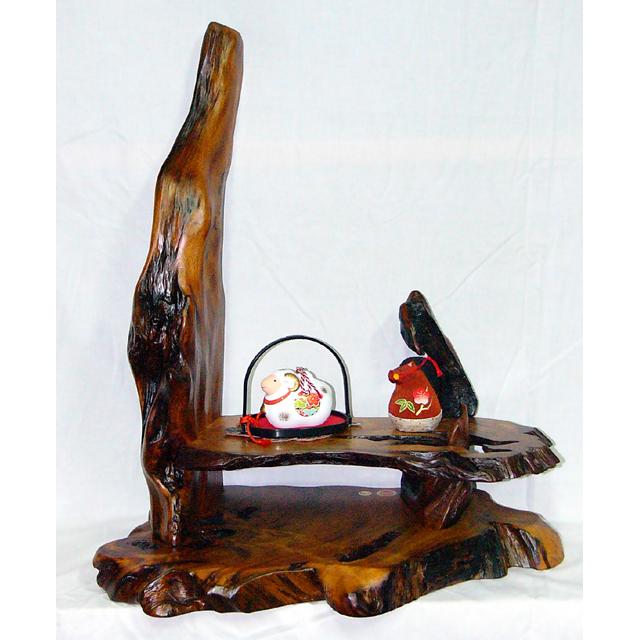 屋久杉製木製家具|衝立(ついたて)その12