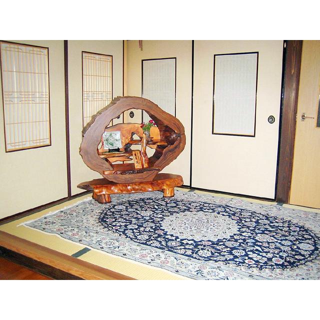 屋久杉製木製家具|飾り棚その2