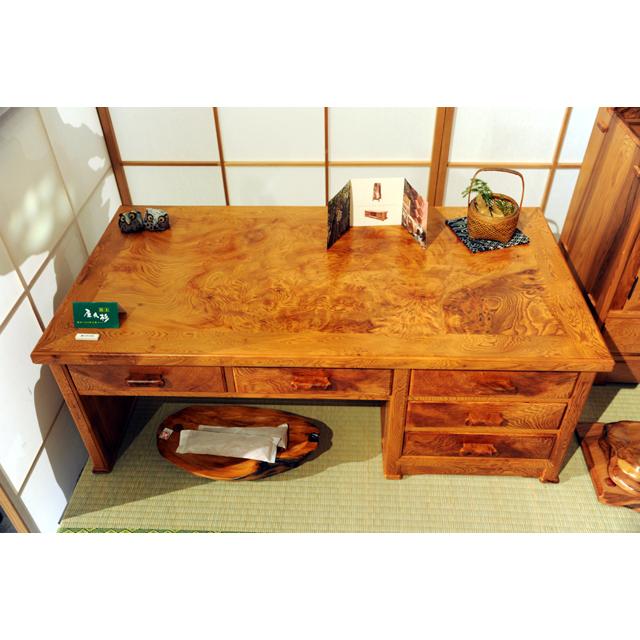 屋久杉製木製家具 テーブルその3