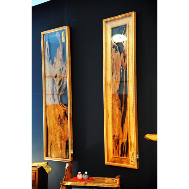 屋久杉製タペストリー 木製家具
